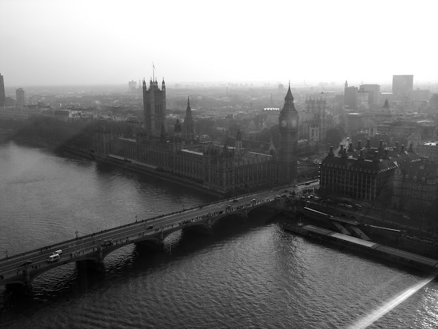 Houses of Parliament. Westminster. London Eye