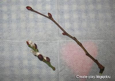 набухли почки весной