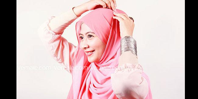 Hijab - Kerudung - Pashmina: Tutorial Cara Memakai Jilbab ...