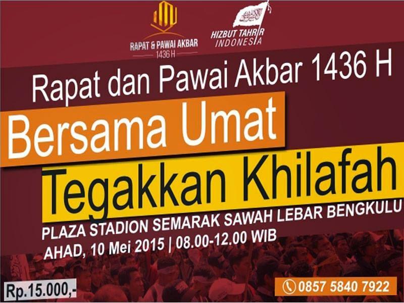 RPA BENGKULU | 0857 5840 7922 | RAPAT DAN PAWAI AKBAR | 10 MEI 2015 | PLAZA STADION SEMARAK SAWAH LEBAR | HTI BENGKULU | HIZBUT TAHRIR INDONESIA