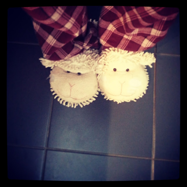 Aroma Sheep Slippers