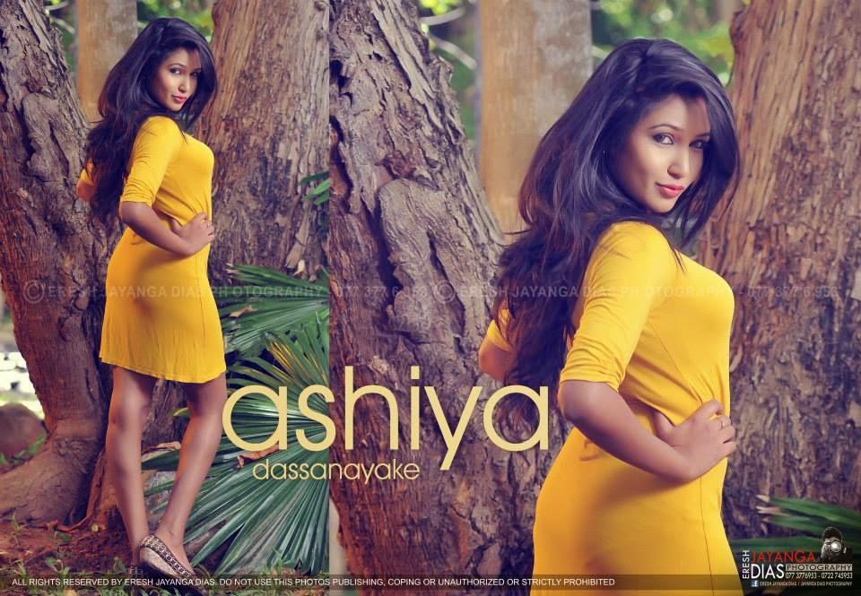 Ashiya Dassanayake ass yellow