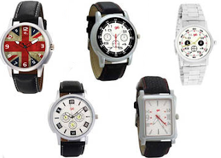 PayTM : Buy Analog Watches Get 5 pices At 81% OFF and 50 % cashback :Buytoearn