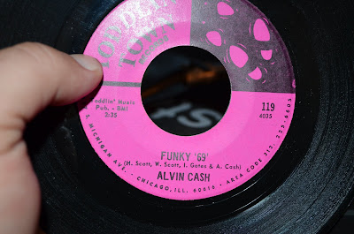 Alvin Cash – Funky \'69\' / Moaning And Groaning  1969 (Toddlin' Town)