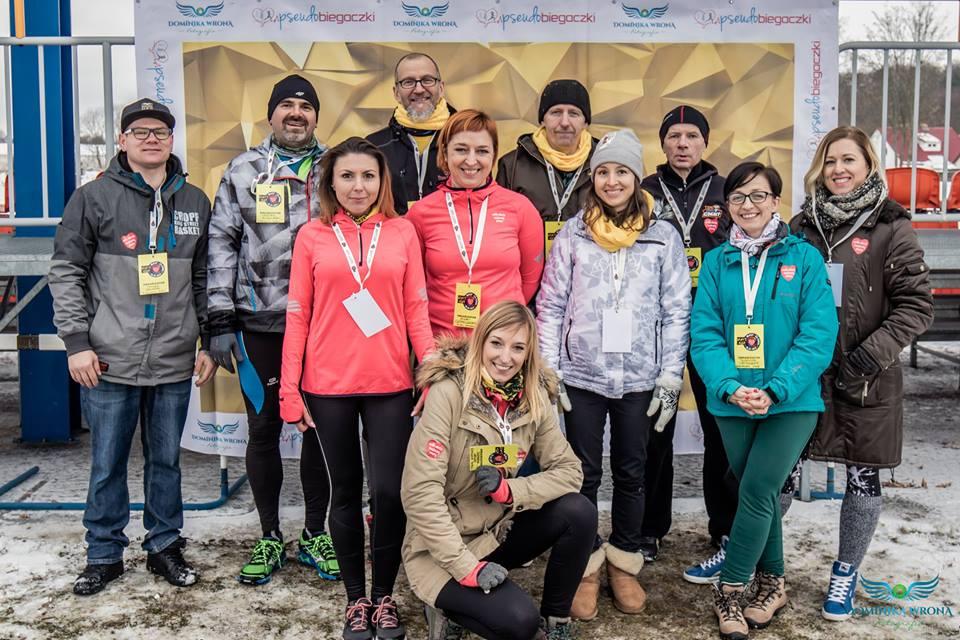 Organizatorzy Złotego Biegu w ramach WOŚP Złotów