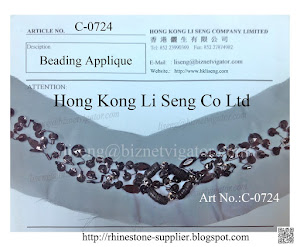 Beading Applique Manufacturer - Hong Kong Li Seng Co Ltd