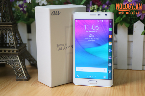 Những lý do nên chọn mua Samsung Galaxy Note Edge Docomo