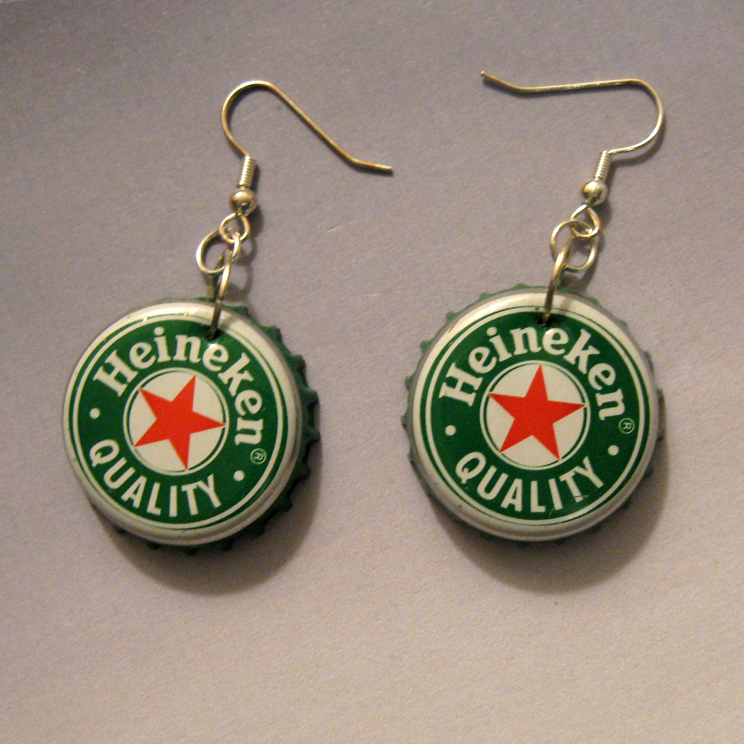 How To Recycle Eco Friendly Jewelry Earrings Copper Recycled Circuit Board Dangle Bottle Cap