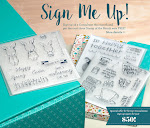 CTMH's February's Campaign -- Sign Me Up!