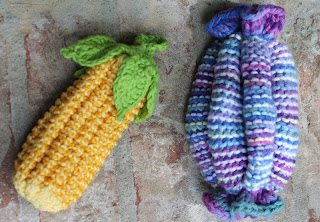 Knitting Pattern Central Food : CORN ON THE COB KNITTING PATTERN   KNITTING PATTERN