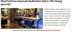 Stuart Holmes Expands Cheltenham Salon with Glossy Revamp!