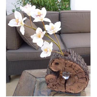 Popurri regalos decoraci n complementos decoracion con - Troncos de madera para decorar ...