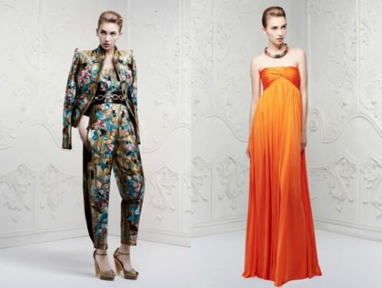 Alexander McQueen Lookbook. Pre-Spring/Summer 2013 collection