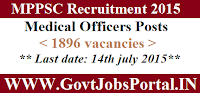MPPSC Recruitment 2015