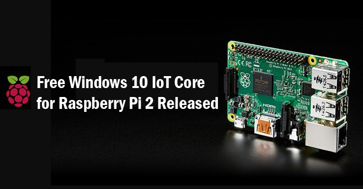 Free Windows 10 for Raspberry Pi 2