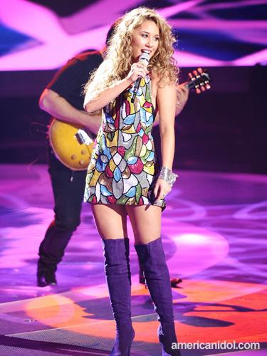 american idol haley dress. haley reinhart american idol
