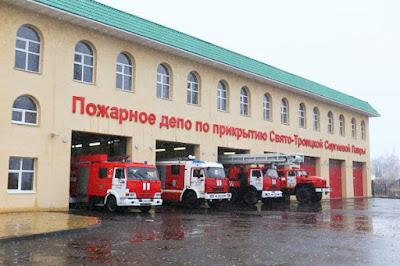 Лавру и Северо-Запад прикроет новое пожарное депо
