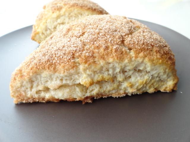Brittany Cooks: Cinnamon Toast Scones