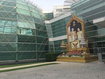 Bangkok. de paseo por Ratchathewi