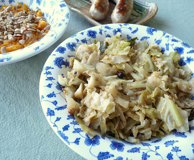 Cabbage with Coriander and Juniper