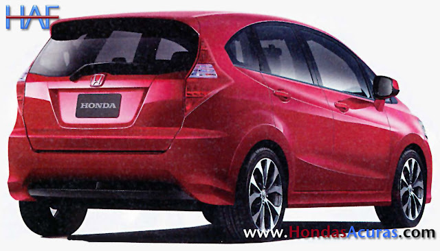 2014 Honda Fit Jazz Renderings and artist sketches - Getting bigger