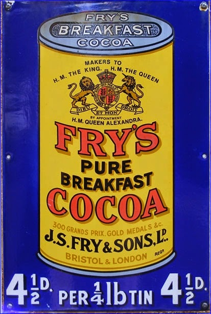 Vintage Fry's Cocoa Advert