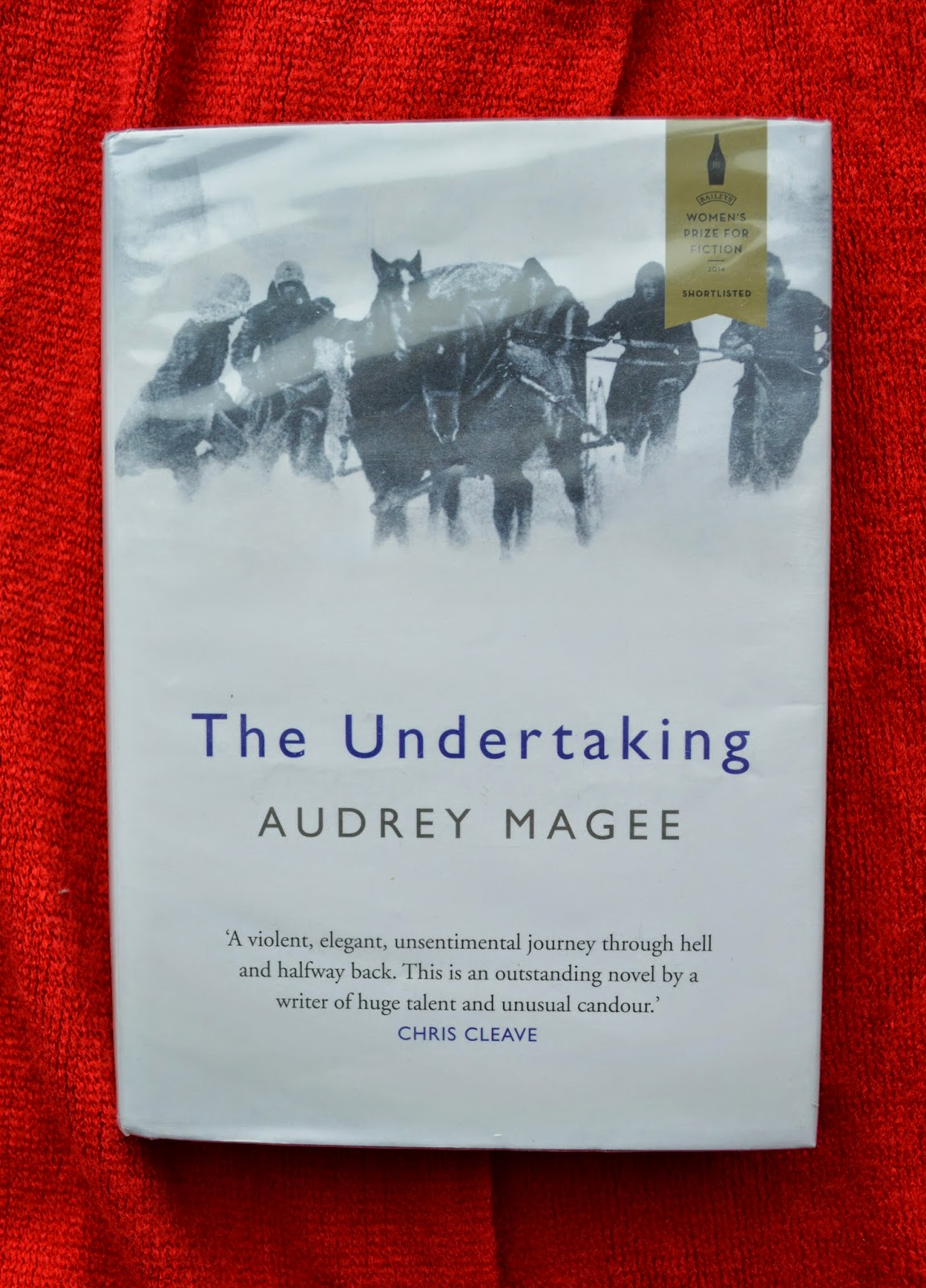 book review, The Undertaking, Audrey Magee, plot, World War II, Germany, Nazi, Eastern front, review, recommendation, Women's Prize for fiction
