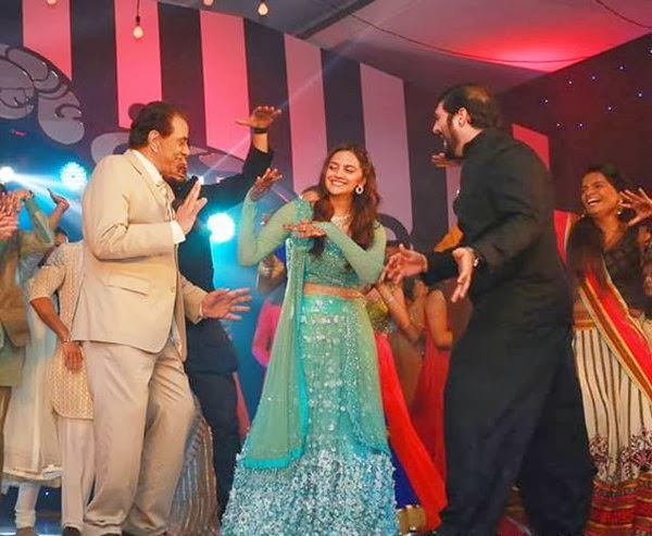 Ahana Dance with Dharmendra