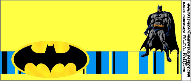 Batman Free Printable Candy Bar Labels Oh My Fiesta! in english