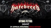 Hatebreed - Bologna 21.04.2017