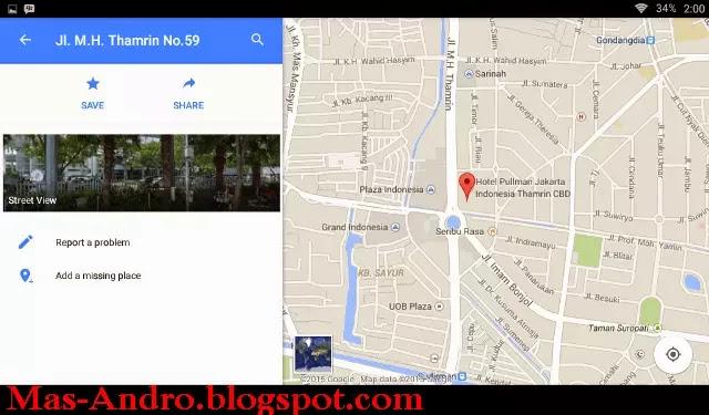 Cara Melihat Google Street View Bandung via Android