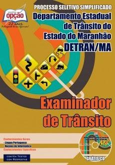 Apostila Detran de São Luís do Estado do Maranhão - Examinador de Trânsito