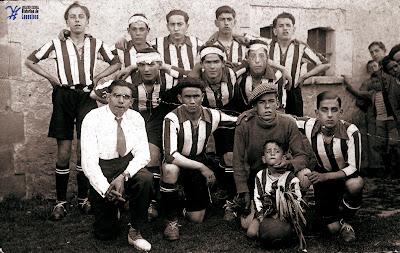 CAMALEÓN, el equipo de fútbol de Lanestosa.