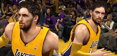 NBA 2K13 Pau Gasol Face Update Preview