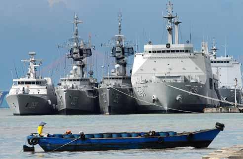 Anggaran Terbatas, Pembangunan Pertahanan Maritim Tersendat