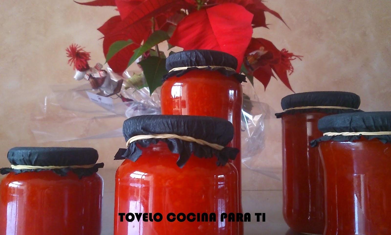 Mermelada De Pimientos Rojos Y Zanahoria