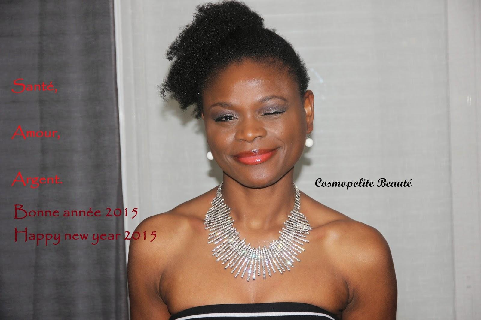 Cosmopolite beauté, happy new year, bonne année,2015,  blogueuse beauté, blog beauté, beauty blog, blog mode, fashion blog