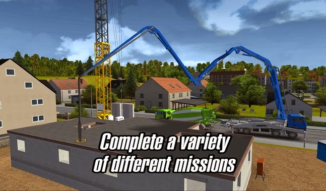 Construction Simulator 2014 v1.0 Apk Download