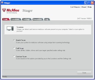 McAfee AVERT Stinger 11.0.0.362 Software Free Download