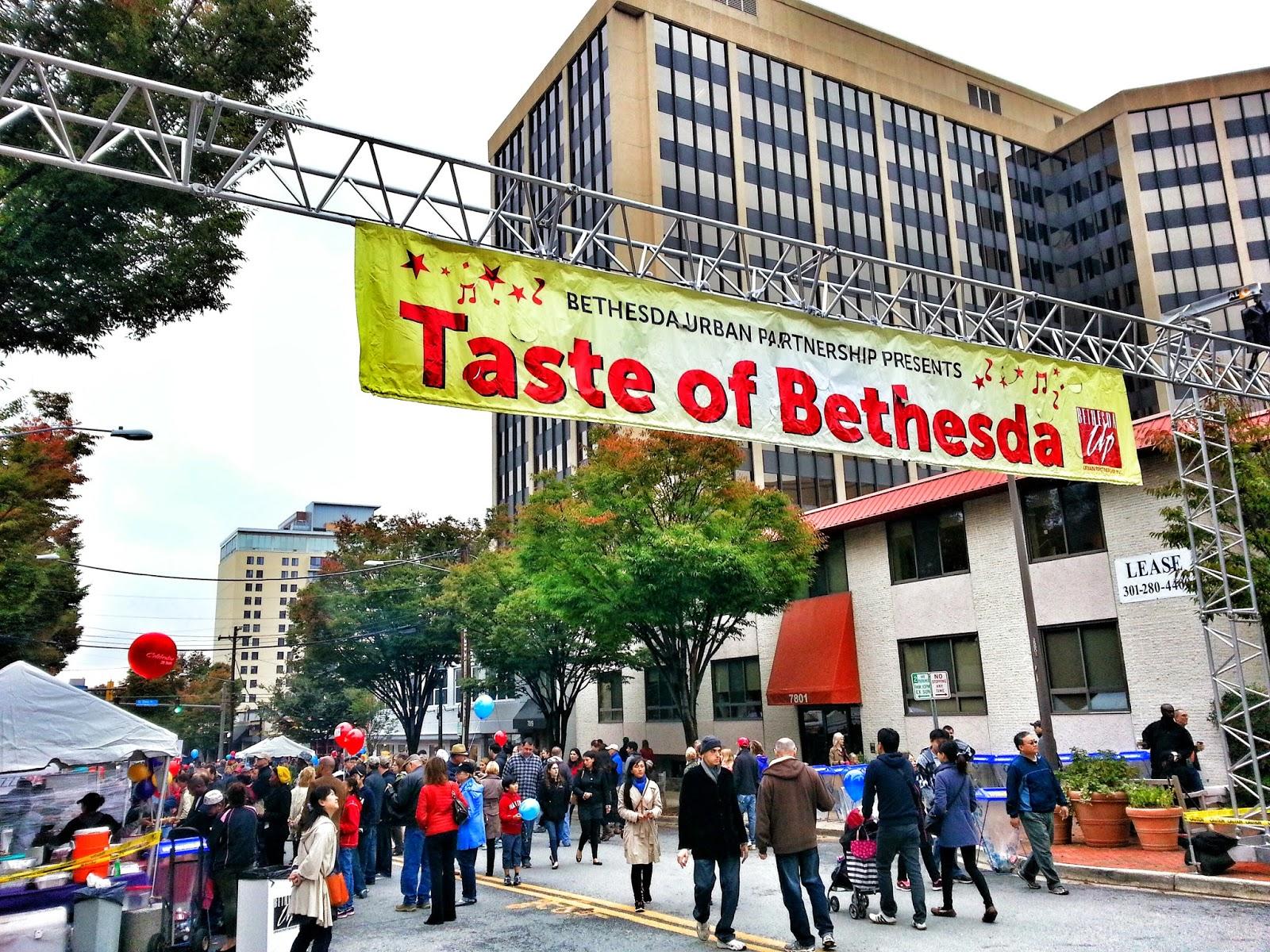 Image result for taste of bethesda