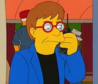 Elton John nos simpsons