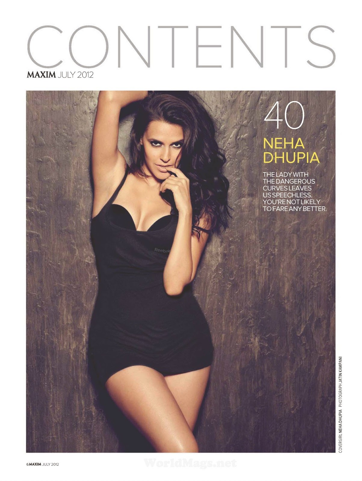 Neha Dhupia Hot & Wild in Maxim Magazine
