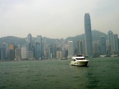 Ferry from Tsim Sha Tsui to Central Hong Kong