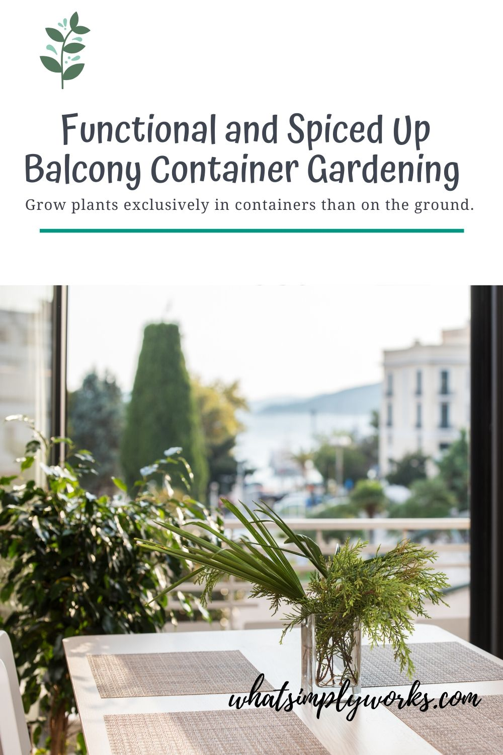 What is container gardening? Simply put, it is the practice of growing plants exclusively in containers instead of the ground.