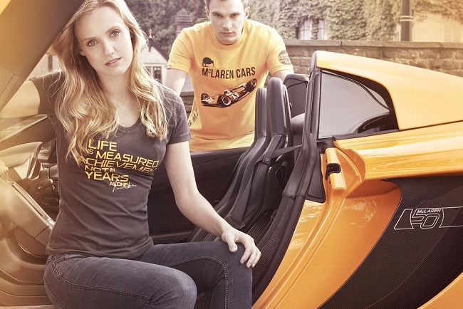 New Limited McLaren Fashion Collections: McLaren 50, McLaren 50 by Hunziker, James Hunt Racing Collection