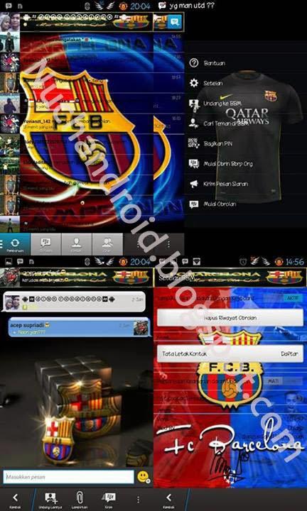 BBM Mod Barcelona Theme Sedot Disini