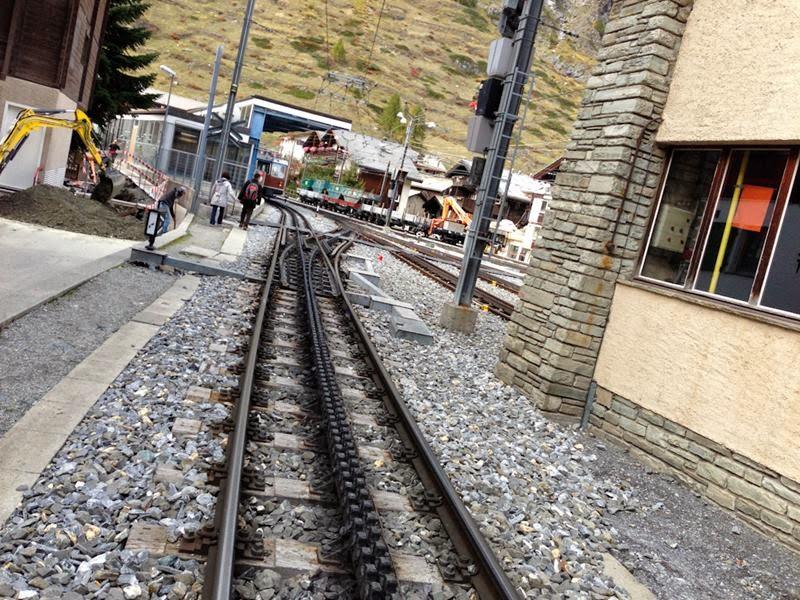 Gornergratbahn rack railway.