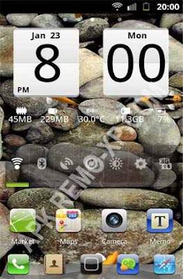 Sense Analog Clock