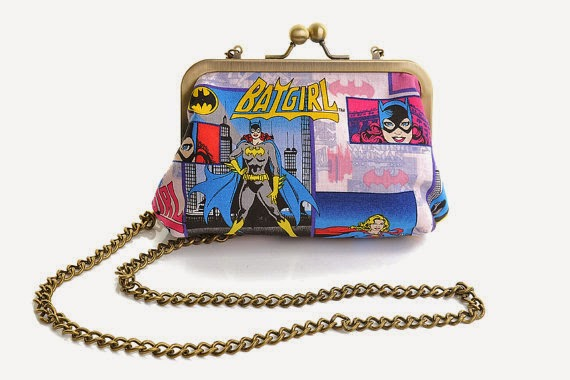 Batgirl clutch - Lucy's Designs - Hello, Handbag