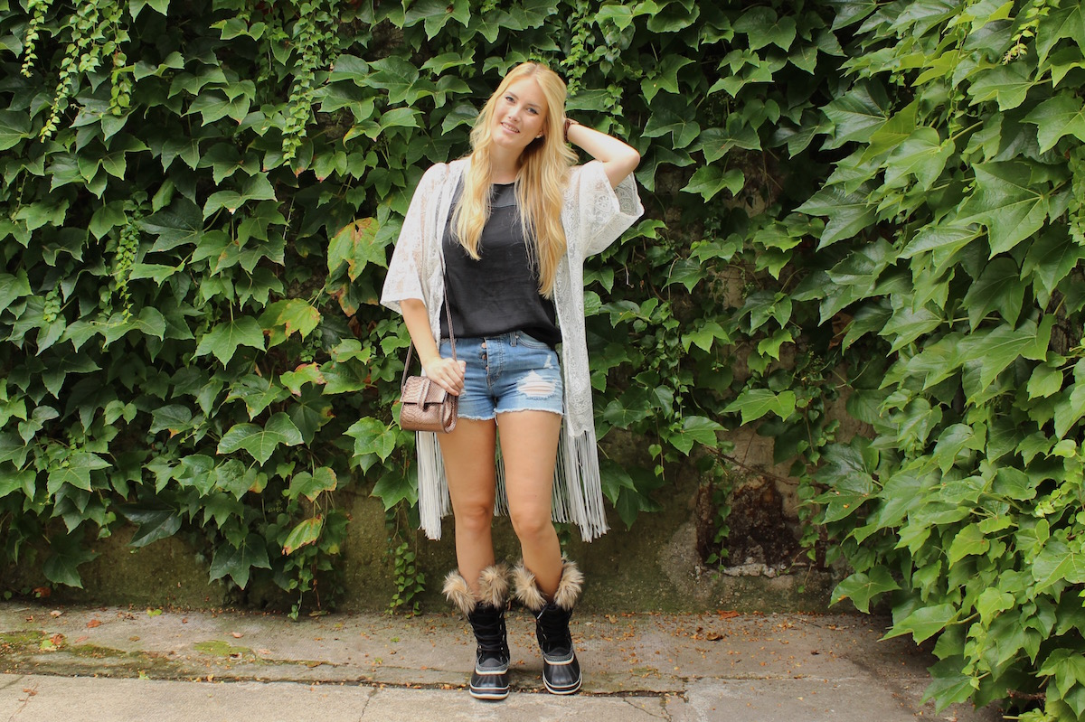 TheBlondeLion Outfit Fashion Look Festival Style